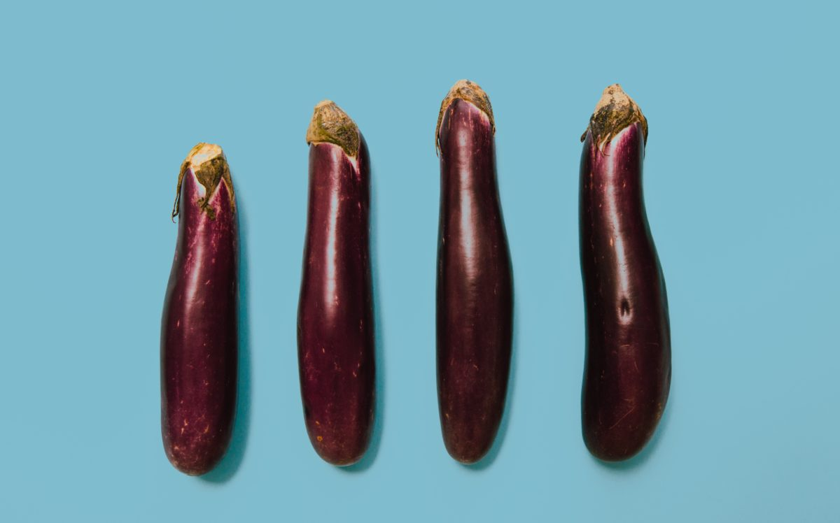 eggplant or penis size matters